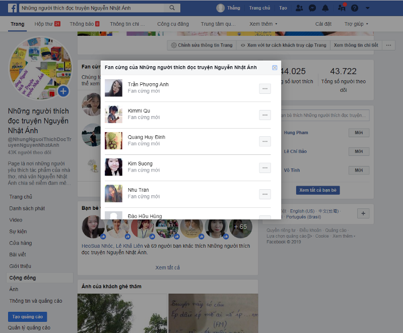Bật tính năng fan cứng cho fanpage facebook