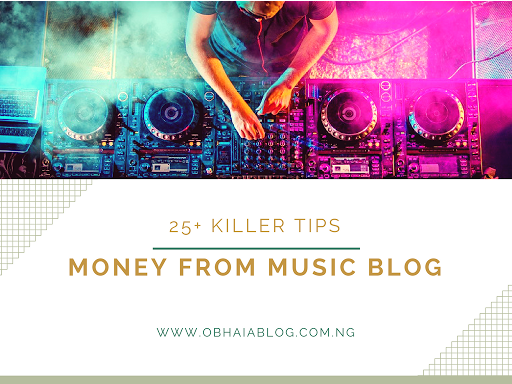 Ways To Make Money As A Music Blogger
