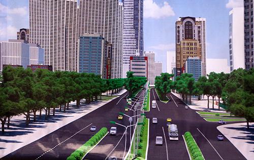 udic westlake khởi công dự án đầu tư mở rộng đường vành đai 3 đoạn Mai Dịch - Cầu Thăng Long