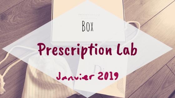 Prescription Lab - Janvier 2019