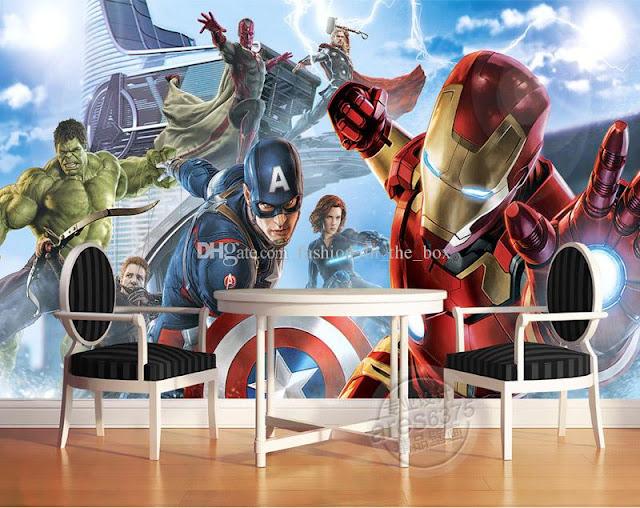Superhjältar Tapet Avengers Tapet Marvel Iron Man Superhjälte Tapeter