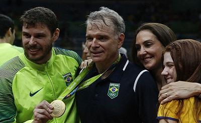 Bruno Mossa de Rezende Pemain Bola Voli Brazil dengan Segudang Prestasi