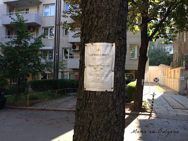 esquelas fallecidos Bulgaria