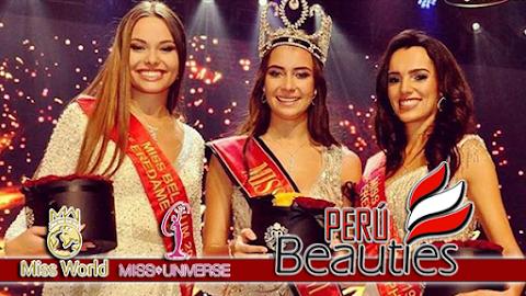 Elena Castro Suarez es Miss Belgium 2019