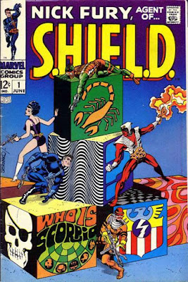 Nick Fury, Agent of SHIELD #1, Jim Steranko