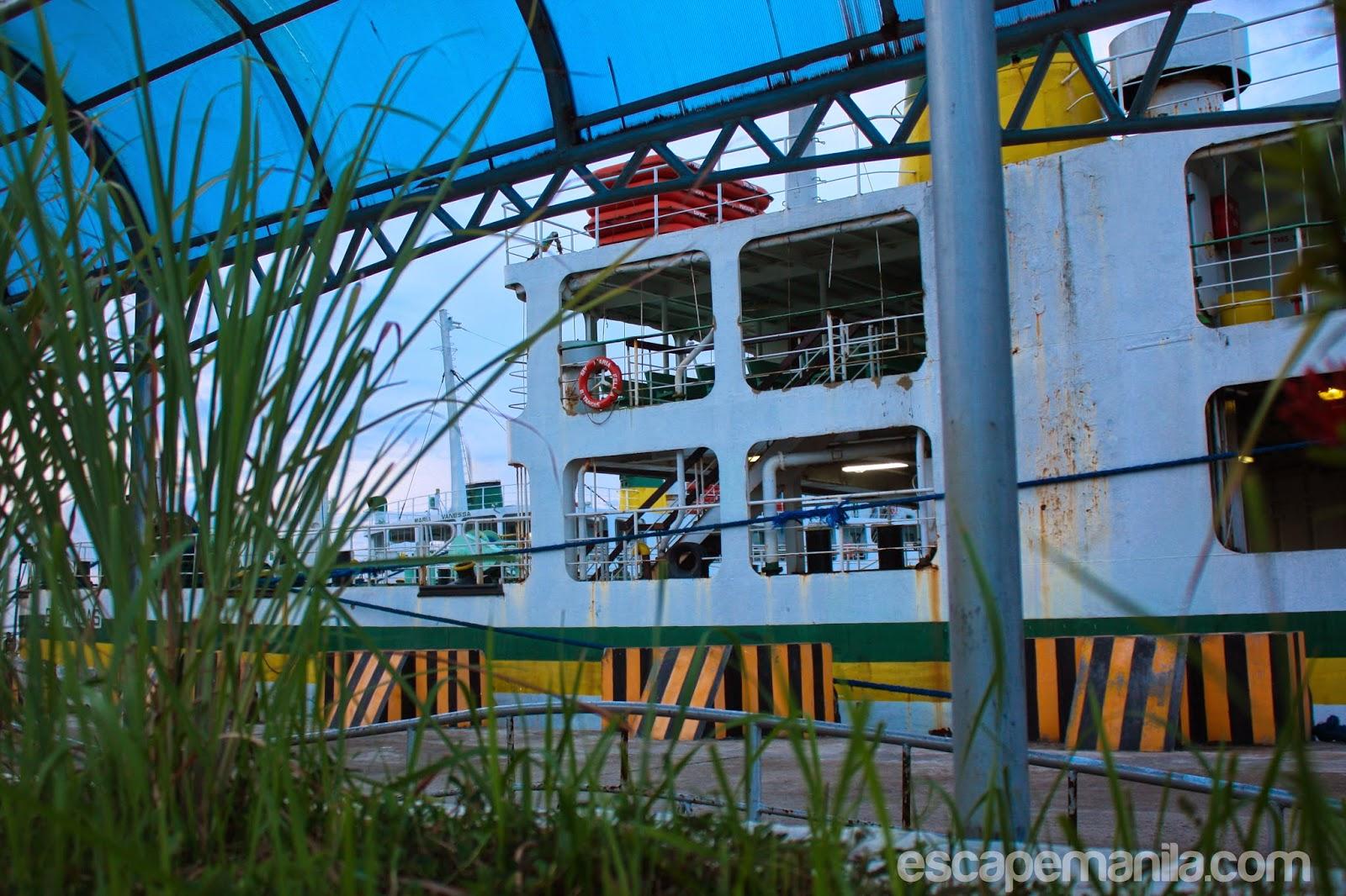 Lipata to San Ricardo ferry schedule