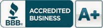 Click here to see the accreditation by the Better  Business Bureau
