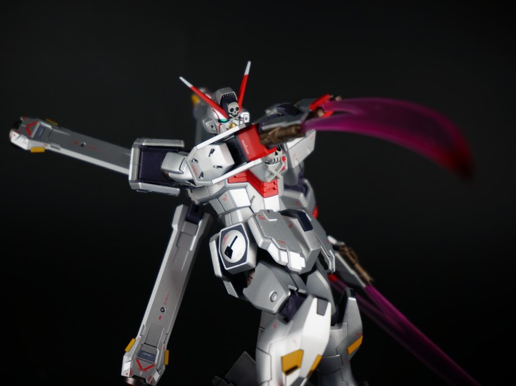 Custom Build: MG 1/100 Crossbone Gundam X-0 GHOST