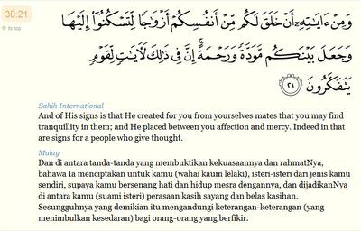 Muhammad Arief Syafaat Surah Ar Ruum Ayat 21 Dan Artinya
