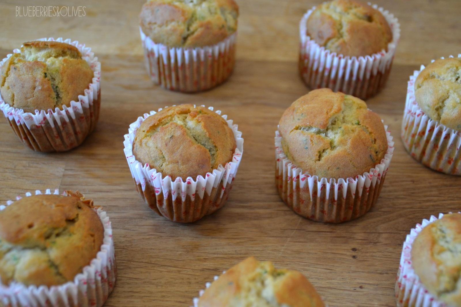 Cupcakes recién hechos - Cupcakes de calabacín, cardamomo y anís 3