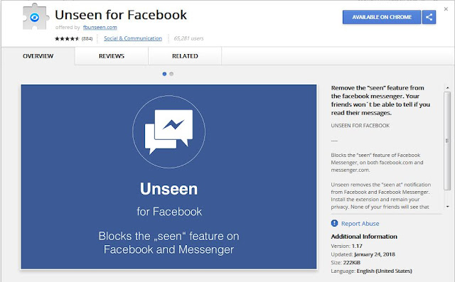 how to hide facebook chat last seen in hindi