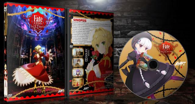 Fate/Extra: Last Encore | Cover DVD |