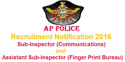 AP Police SI & ASI Recruitment