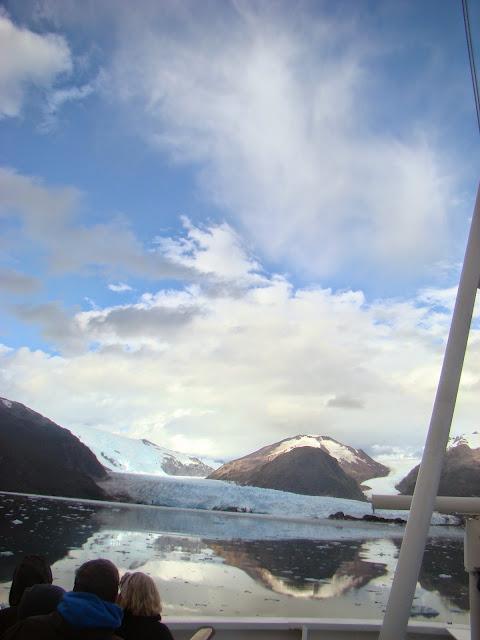 Glaciar Amalia Fiordos chilenos