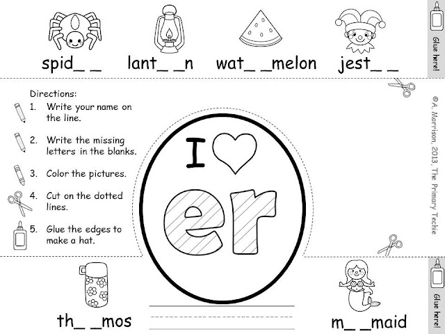 The Primary Techie: Phonics Hunts and Hats!