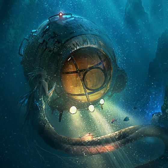 Secrets of The Depths Wallpaper Engine