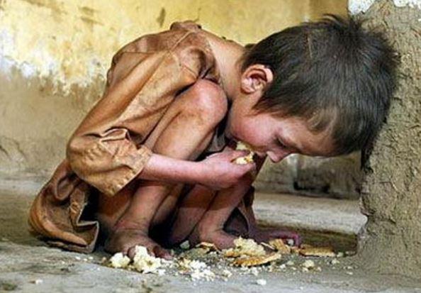 Crianças passam fome na propinocracia e Lula come lagosta em Cuba