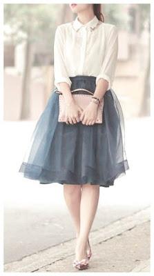 faldas de tul cortas