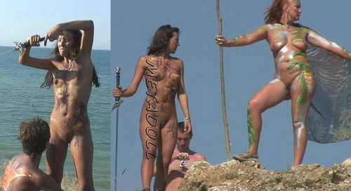 BeachHunters 18378-18411 (Nude and public beaches real amateur voyeur)