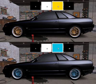 Roda do Forza 3 para GTA SA pintável