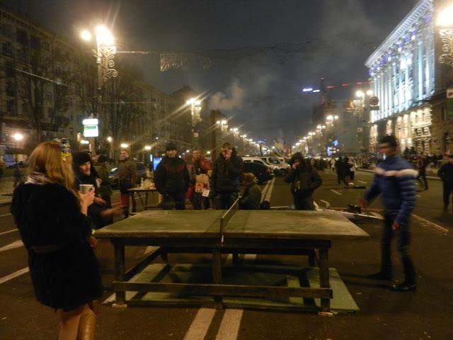 Новый год на Майдане 2014