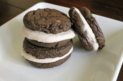 Homemade Chocolate Mint Oreos #AEdairy #sponsored