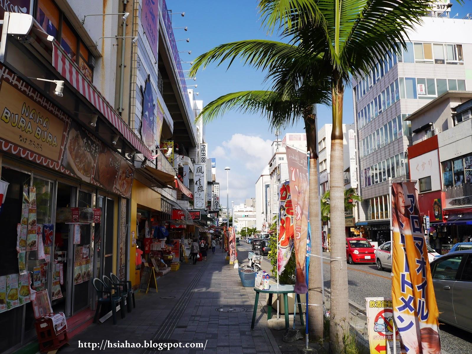 沖繩-國際通-購物-逛街-景點-自由行-Okinawa-kokusaidori