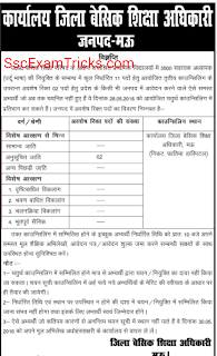UP Urdu Teacher Counseling for Mau