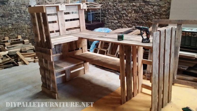 Mueblesdepalets.net: Proyecto y resultado final de un mueble para la ...