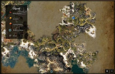 Divinity Original Sin 2, DOS2, Gareth Location Map, Source Collars Guide, Leya