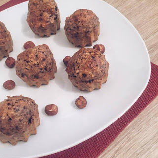 goldandgreen muffin choco-noisette healthy recette