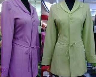 Foto model baju dinas pns perawat kantor pemda guru wanita