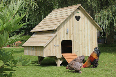 Timber Hen Houses Made in the UK