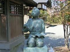 善栄寺・二宮金次郎像