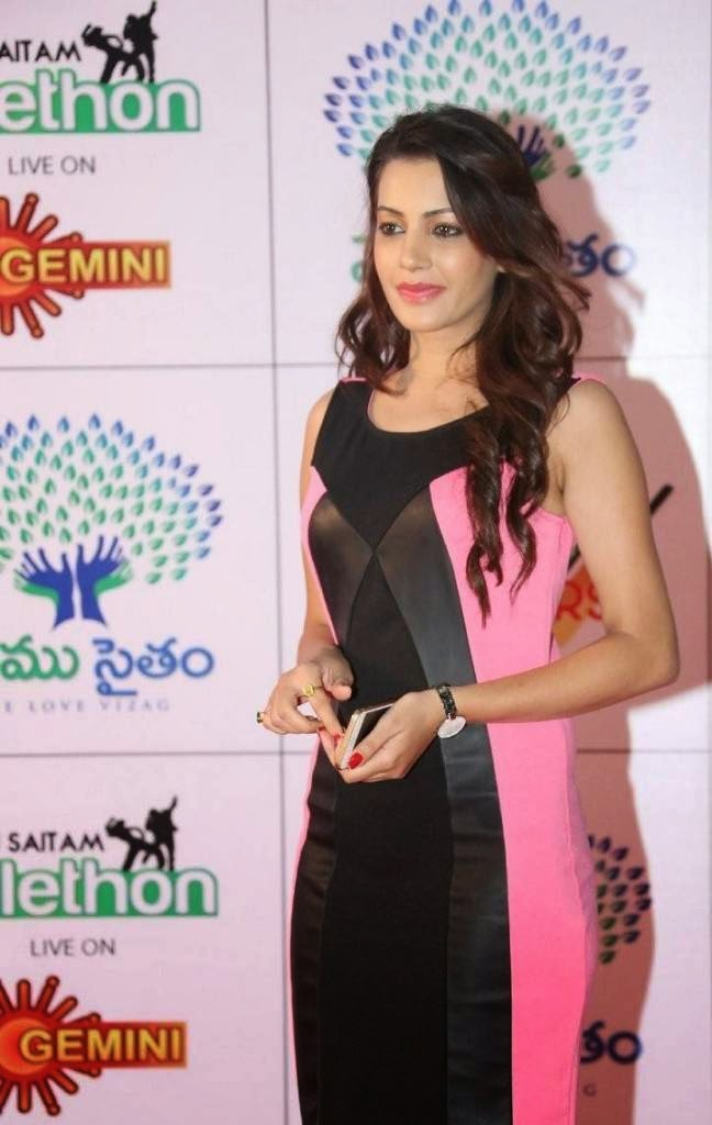 Actress Deeksha Panth Pictures, Deeksha Panth Hot HD Pics in Pink Dress