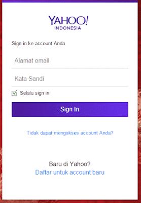 Daftar email baru di yahoo terbaru dan lengkap
