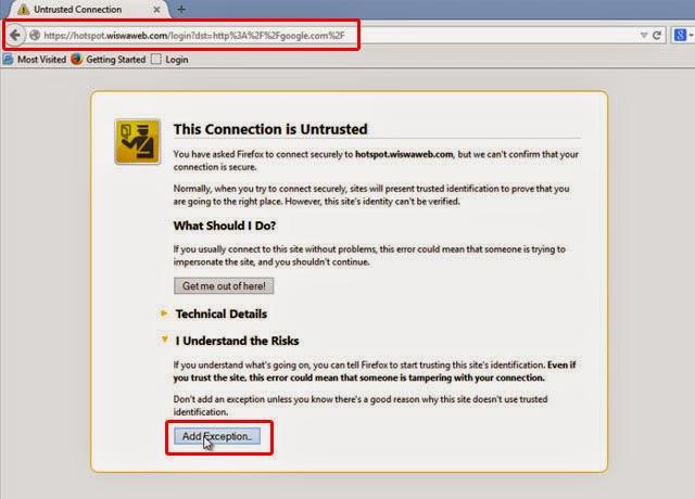 Redirect HTTPS Hotspot Login Page Mikrotik Self-Signed