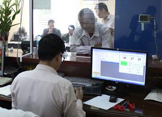 Đổi Giấy Phép Lái Xe Thẻ PET Qua Mạng Internet