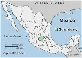 Mexico Map Guanajuato.2 Mexico 4 The Titans Un Mapa De Guanajuato A Map Of Guanajuato