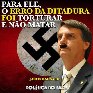 Resultado de imagem para bolsonaro nazista