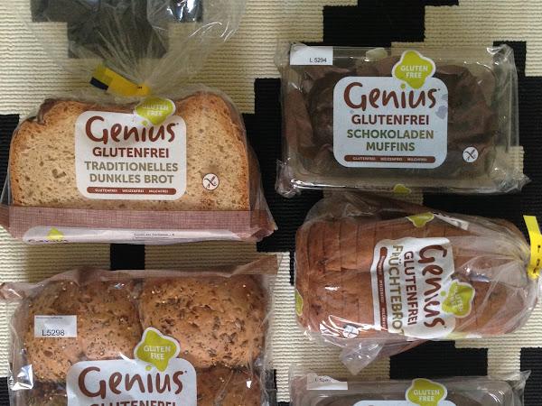 glutenfreies Genius Brot ab jetzt in Deutschland!