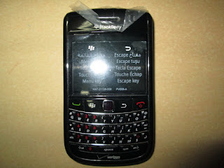 Hape Jadul Blackberry 9650 Essex Seken Mulus Kolektor Item