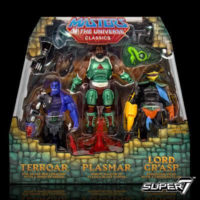 El Pack 2 incluye a Terroar, Plasmar y Lord Gr'asp.