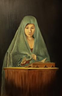 Ο Ευαγγελισμός Αντονέλλο ντα Μεσσίνα