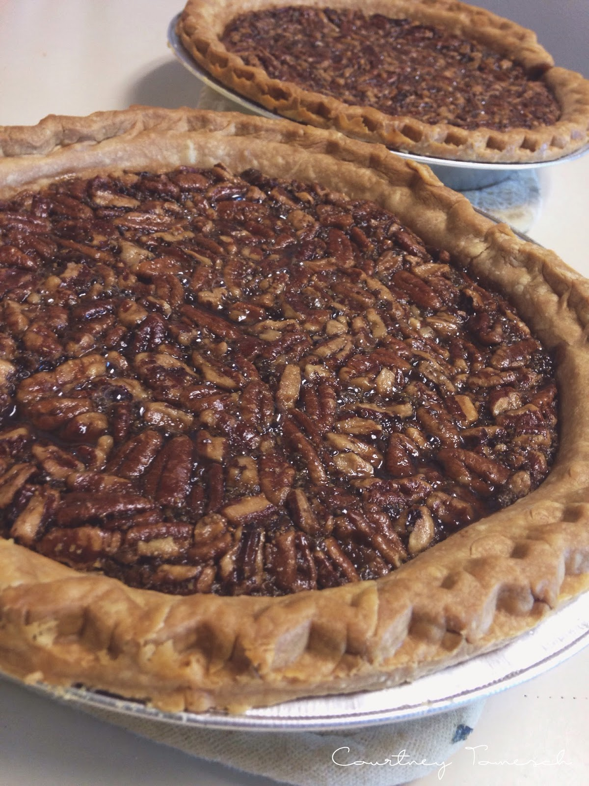 Courtney Tomesch Vegan Pecan Pie