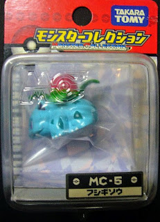Ivysaur figure repaint version Takara Tomy Monster Collection MC series