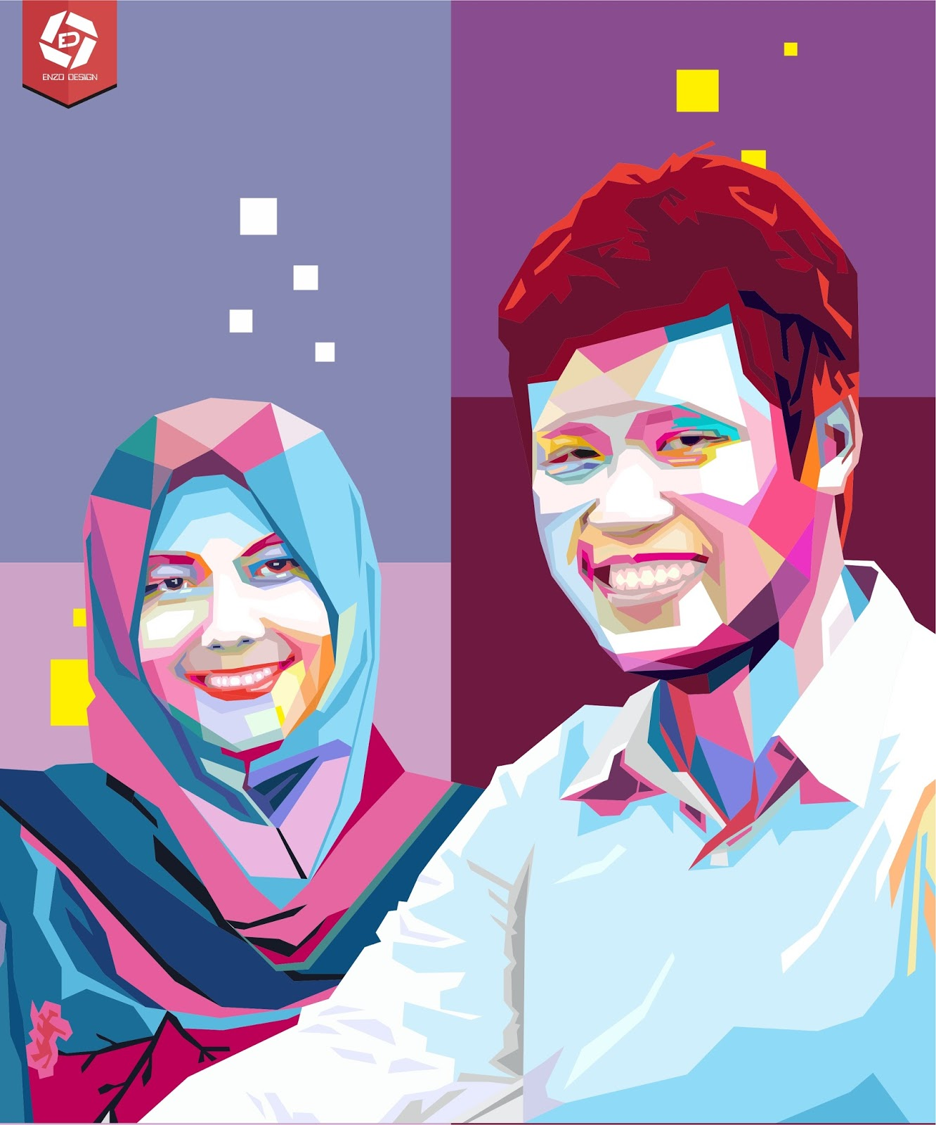 [Design Services] Make A Pop Art (WPAP and Vector Art) Professional and Fast - Corel Draw Effect ...