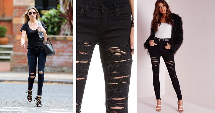 DIY: 3 metody na spodnie z dziurami