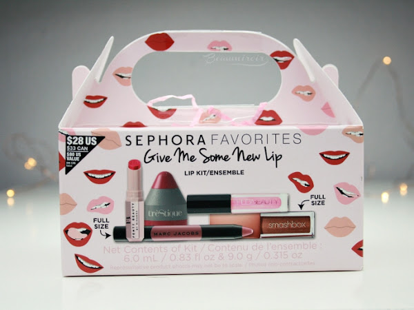 Sephora Favorites Give Me Some New Lip Kit for spring 2018: review & swatches