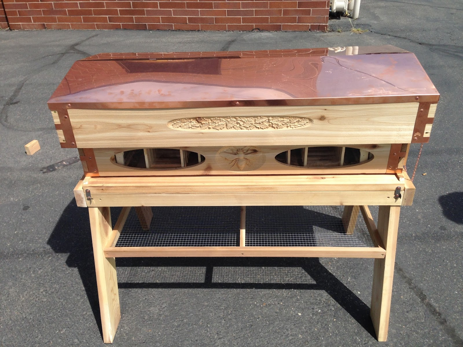 Langstroth Top-Bar Long Box by Eco Bee Box | ECO BEE BOX ...